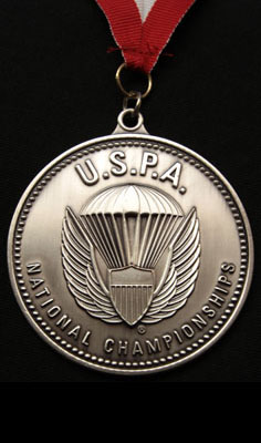 Multiple Bronce Medals at USPA National Championships in FS, VFS, and Freefly