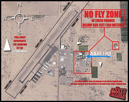 Map of Skydive Arizona