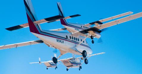 Airplanes at Skydive Arizona