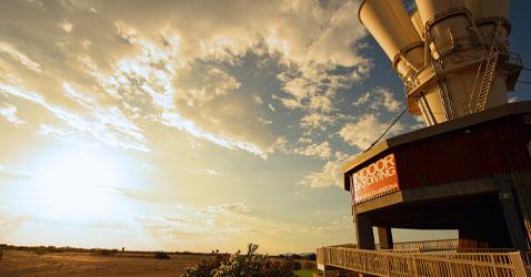 Skyventure Arizona wind tunnel: outside